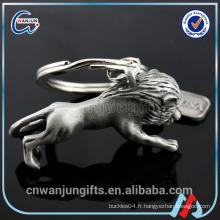 Porte-clés en métal 3D, Keychain en forme d'animal, Keychain animal