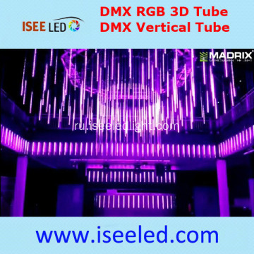 RGB Snowfall LED Tubo DMX512 Stage Light