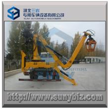 Holzgreifer 1 Tonnen LKW Kran