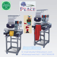 Elucky tajima type high speed single head embroidery machine with top quality and cheap price