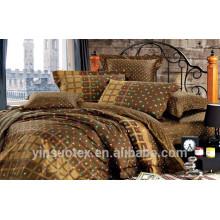 Set de literie de mode, tissu textile en coton et sortes de literie