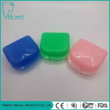 Colorful Dental Plastic Retainer Box