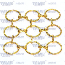 Decorative Metal Ring Mesh for The Hotel