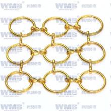 Декоративные металлические кольца сетки для отеля