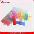 Plastic 21-Cases Pill Box Manufacturering (KL-9140)