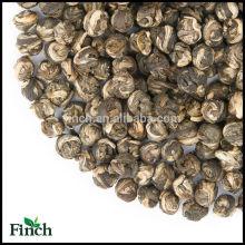 Estándar de la UE Superior Yunnan Tea Pure Jasmine Flower Té verde Jasmine Dragon Pearl Tea