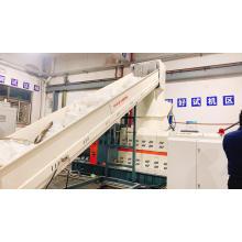 Granulador de peletizador de máquina de reciclagem de plástico filme plástico PP PE residual