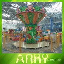 Amusant Amusement Ride Merry Go Round Swing