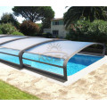 Cubierta del desagüe del piso Cubierta de plástico de la piscina Cortina