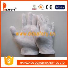 100% Bleich Baumwolle oder Interlock Arbeitshandschuhe Dch102