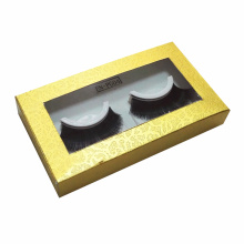 Custom Pvc Window Cosmetics Eyelash Cardboard Box