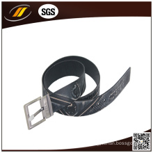 New Arrival Top Brand Embossed Genuine Leather Men Belts