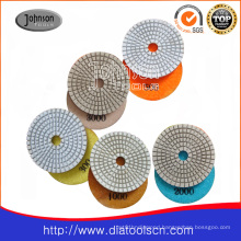 75mm Diamond White Polishing Pad
