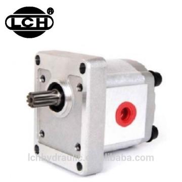 crane pump hydraulic triple aluminum hydraulic shaft gear pump