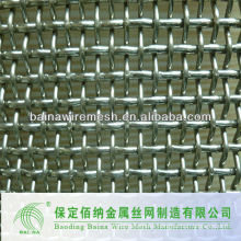 High Carbon Stainless Steel Crimped Wire Mesh