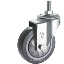 Medium Duty PVC Caster Wheel (Gray) (Y3602)