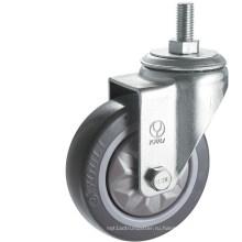 Средний долг PVC Рицинус колеса (серый) (Y3602)