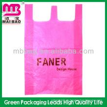 Guanzhou Maibao Package maßgeschneiderte 100% biologisch abbaubare Plastiktüten mit Tragegriff für die Verpackung
