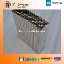 Profesional forma personalizada Super imanes de neodimio fuerte con ISO / TS16949 certificado