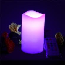Bougies à pilier LED alimentées par batterie