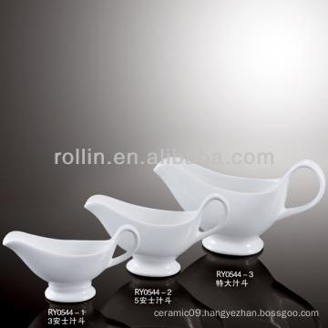 Juice pot, ceramic juice pot, gravy boat,sauce pot