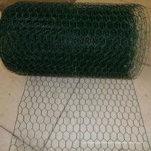 Rollo hexagonal de malla de alambre recubierto de PVC de 1/2 '' agujero
