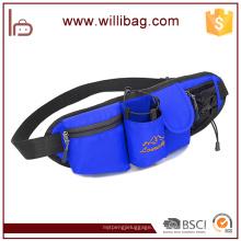 Bolso de cintura al aire libre de la moda para el bolso de nylon de la cintura del hombre y de las mujeres