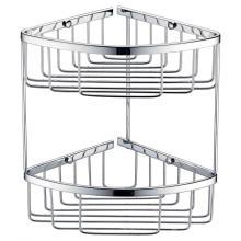 Doppelschichtiger Netzkorb für Bad und Küche