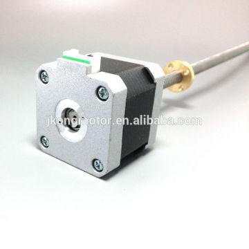 CE, ROHS aprobado para el motor de pasos linear del pritner 3d NEMA17 barato