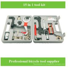 Venta al por mayor bicicleta a estrenar de bicicleta de reparación de bicicletas herramienta de herramientas de caja de herramientas de bolsa