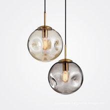 Glass modern lighting chandeliers pendant light