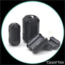 Supresor de ruido Magnetic NiZn Cable Ferrite Core para cables de señal 9mm
