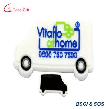 PVC personnalisé frigo voiture aimant avec caoutchouc souple