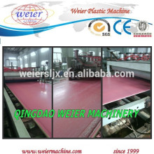 PVC foamed sheet production line /PVC board machine