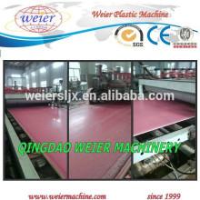 PVC foamed sheet production line /PVC board machine