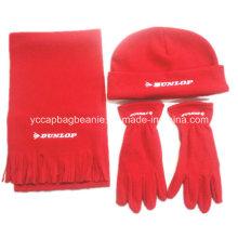 Polar Fleece Hat, Scarf, Glove, Promotion Hat,