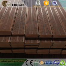 Propriedades antissépticas de madeira jardim piso deck de plástico imitação placa de madeira