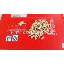 Secado Mushroom Desidratado Shiitake Grânulos com Green Food Certificate