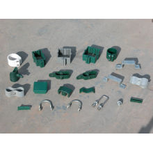 Fence post Clips and fittings