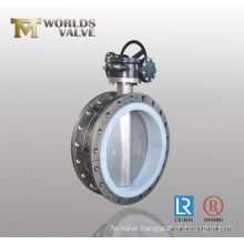 Monel Double Flanged Butterfly Valve