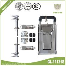 Porte en acier inoxydable Cher réfrigérateur, congélateur, réfrigérateur