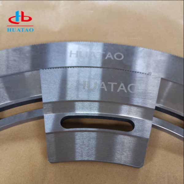 Arc Shaped Upper And Lower Slotter Knives Huatao