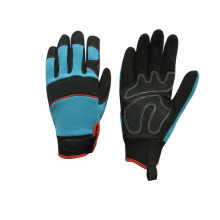 Micro Fiber Padded Palm Mechanic Working Glove--7221