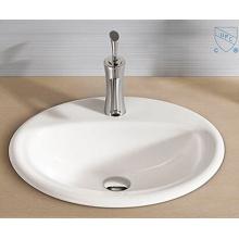 Cuarto de baño oval redondo forma arte cerámica porcelana lavamanos fregadero
