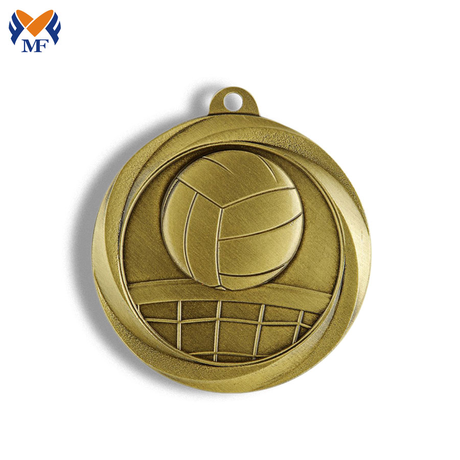Volleyball Sports Medals