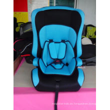 Asiento de coche de bebé azul con ECE R44