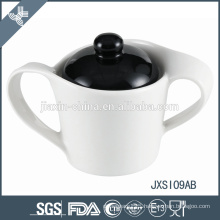Wholesle china brand cheap luxury mix color ceramic sugar pot