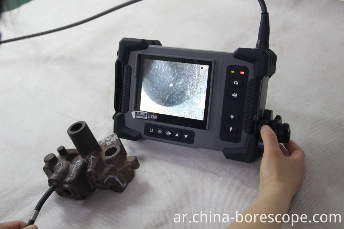 Boiler tube inspection camera