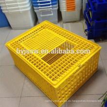Jaula de transporte de aves de corral de plástico para la venta