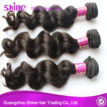 Loose Wave Types Brazilian Machine Weft Hair
